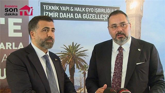 Teknik Yapı ile Halk GYO'dan İzmir'e ortak proje!