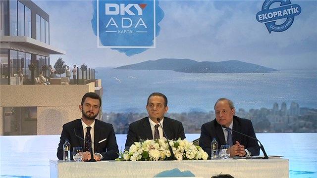 DKY Ada Kartal projesi tanıtıldı!