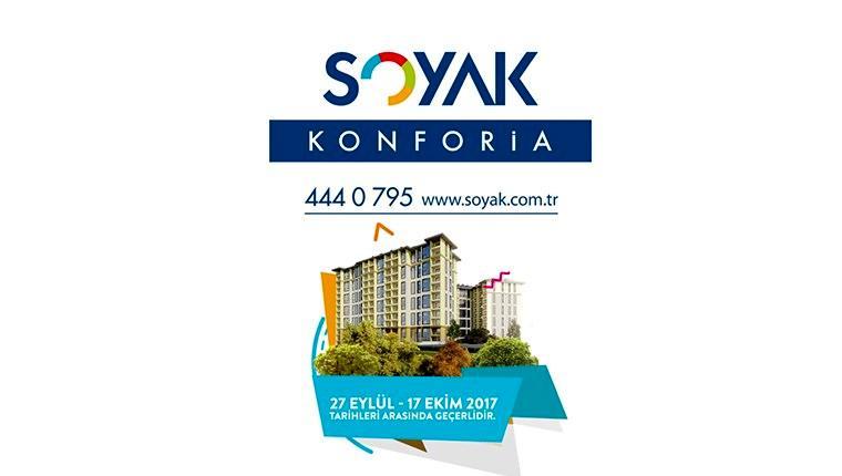 Soyak Konforia projesinin filmi yayında!