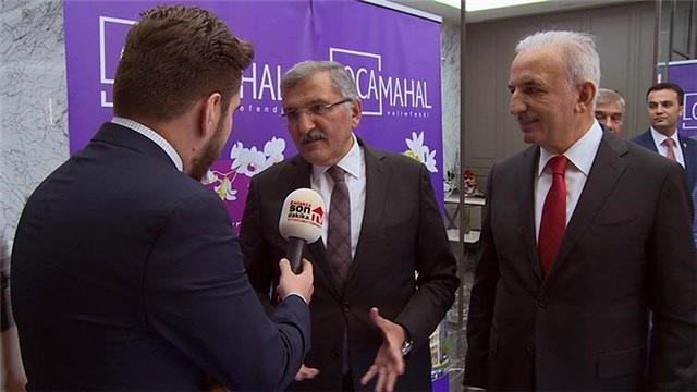 İsmet Yıldırım ve Murat Aydın, Locamahal'i anlattı!