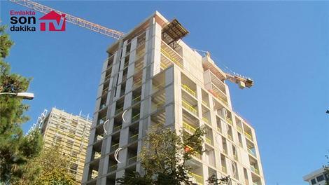 Polat Ev Göztepe'nin inşaatı sürüyor