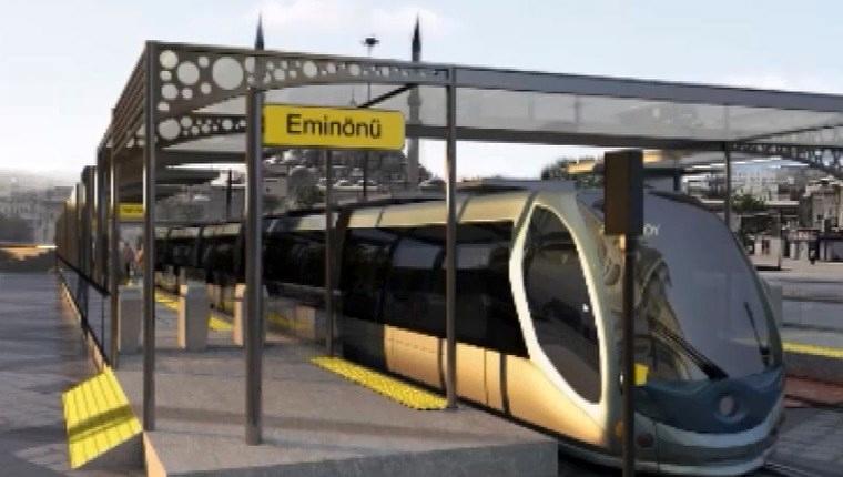 Eminönü- Alibeyköy tramvay hattına onay çıktı!