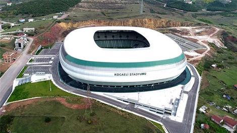 Kocaeli stadyumunun yapımı tamamlandı