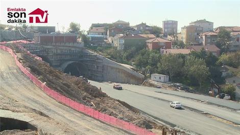 İşte Çamlıca Camisi'ne gidecek olan tünel!
