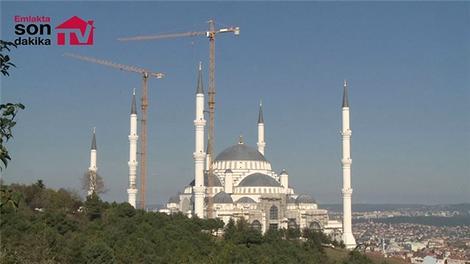 Çamlıca Camisi'nin yüzde 90'ı tamamlandı!