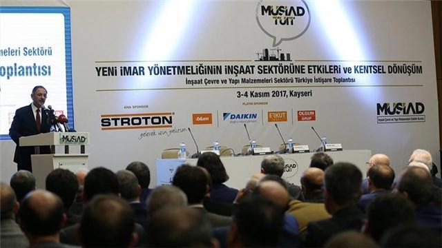 Mehmet Özhaseki, MÜSİAD İnşaat Zirvesi'nde konuştu!