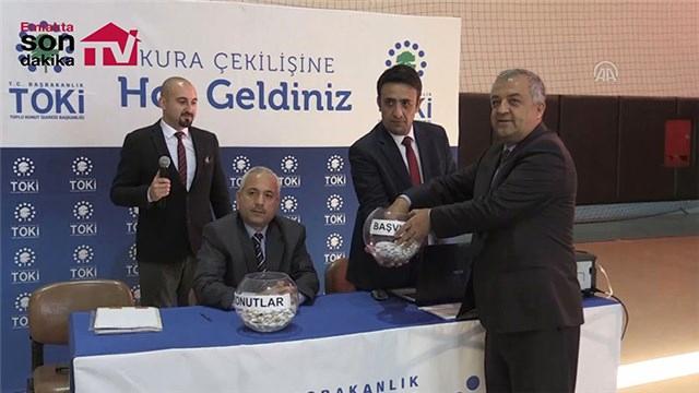 TOKİ Adana Sarıçam Evleri'nde emekli kuraları çekildi!