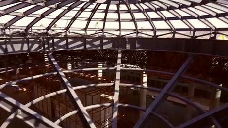 3. Havalimanı'nda muhteşem çelik işçiliği!
