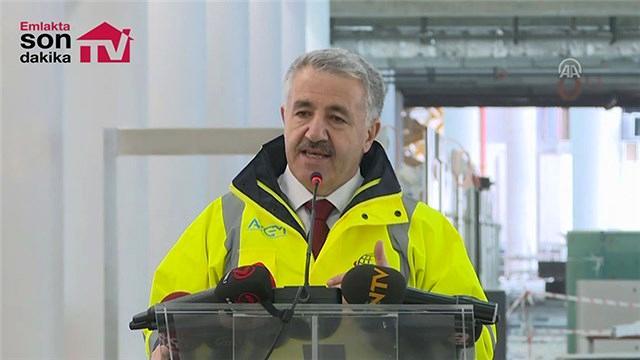 Bakan Arslan'dan 3. Havalimanı açıklaması geldi!