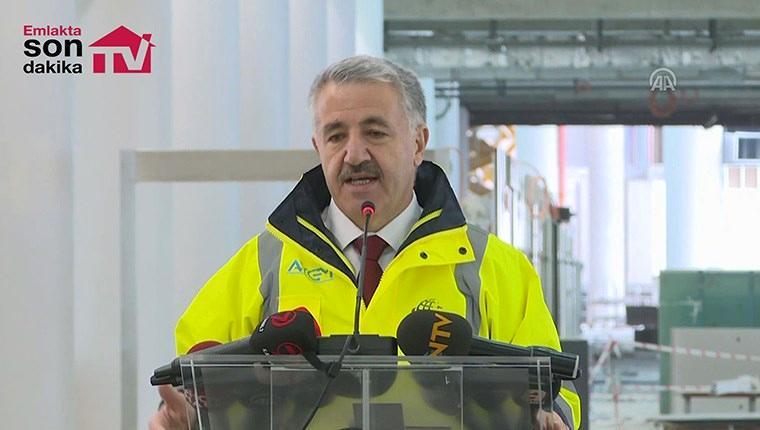 Ahmet Arslan, 3. Havalimanı'nın son durumunu anlattı!