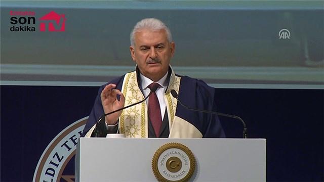 """Başbakan Yıldırım: """"Küresel krizde dünyada yapılan 10 mega projeden altı tanesini Türkiye yaptı"""""""
