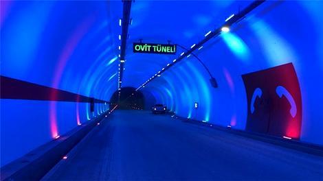 Ovit Tüneli şimdiden sürücülere umut oldu