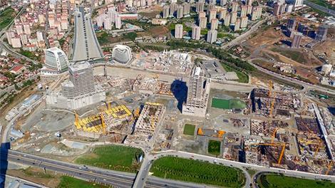 İstanbul Finans Merkezi'nin inşaatı hızla devam ediyor!