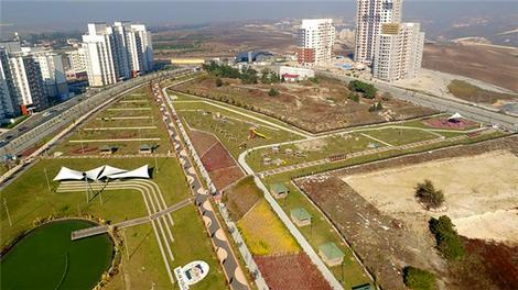 Bahçekent Hayat Park'ın havadan görüntüleri!