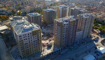 Nevşehir Emlak Konutları'nın havadan görüntüleri!