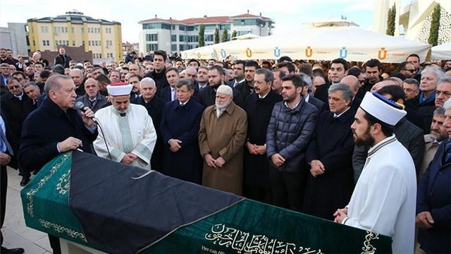 İTO Başkanı İbrahim Çağlar'ın cenaze töreni!
