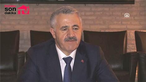 Ulaştırma Bakanı Arslan'dan 3 Katlı Büyük İstanbul Tüneli açıklaması
