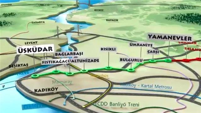 Üsküdar-Ümraniye-Çekmeköy metrosunun ilk etabı açılıyor!
