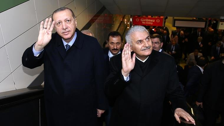 Üsküdar-Ümraniye metrosu ilk seferini yaptı!