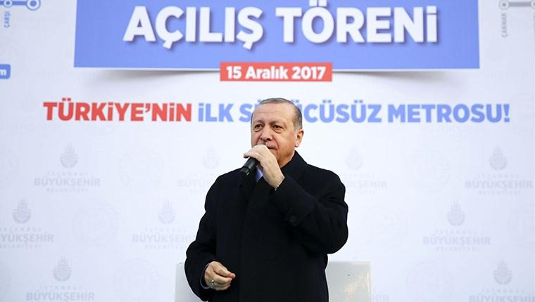 """""""İstanbul'da ki metro hatlarını 2019 yılında 355 kilometreye ulaştırıyoruz"""""""