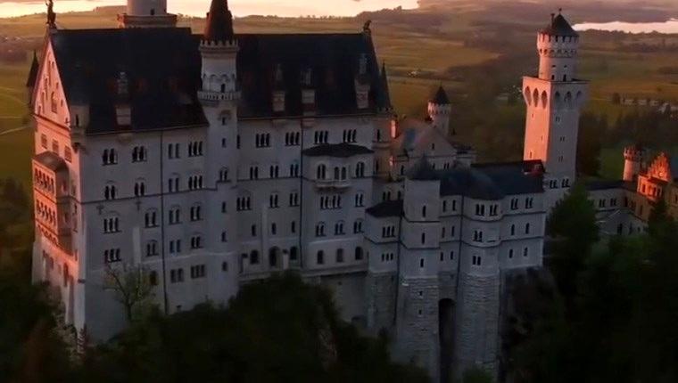 Almanya'daki efsanevi şatolar!