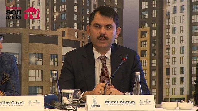 Murat Kurum, Ebruli Ispartakule'nin lansmanına katıldı