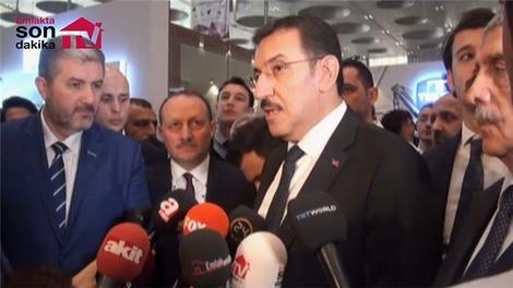 Bakan Bülent Tüfenkci, Expo Turkey by Qatar'da!