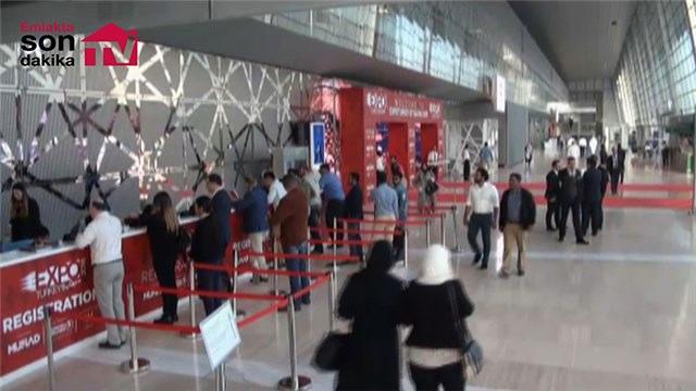 Expo Turkey by Qatar Fuar alanının genel görüntüsü!