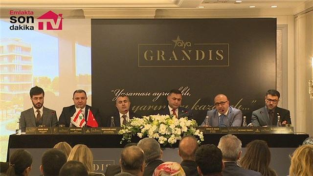 Alya Grandis projesi basın karşısına çıktı