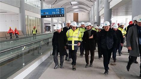 Aycı'dan yeni havalimanında inceleme