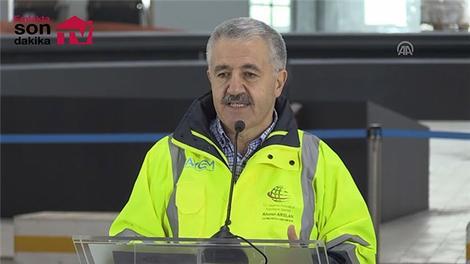 """""""Havalimanı inşaatında yüzde 80 ilerleme sağlamış durumdayız"""""""