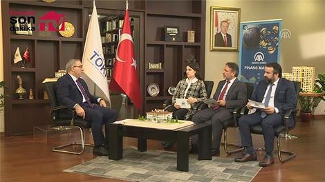 """TOKİ Başkanı Turan: """"Bu yıl 60-70 bin konut hedefi koyduk"""""""
