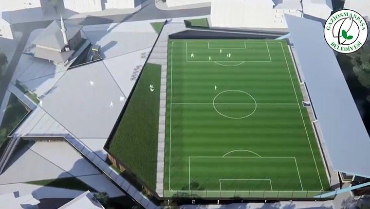 Gaziosmanpaşa'nın Kapalı Pazar Yeri ve Spor Kompleksi projesi