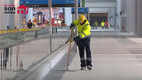 Üçüncü havalimanı çalışanlarına şehir yaşamını aratmıyor