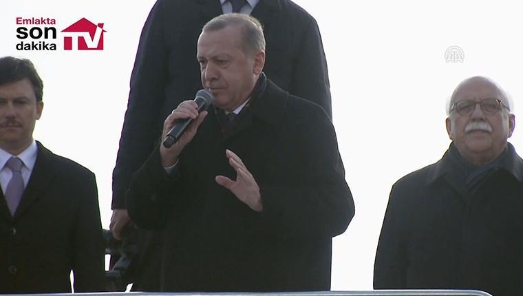 """Cumhurbaşkanı Erdoğan: """"Türkiye'yi üç kat büyüttük"""""""