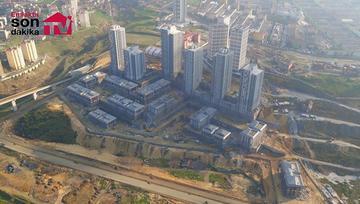 Ayazma Emlak Konutları inşaatı havadan görüntülendi!