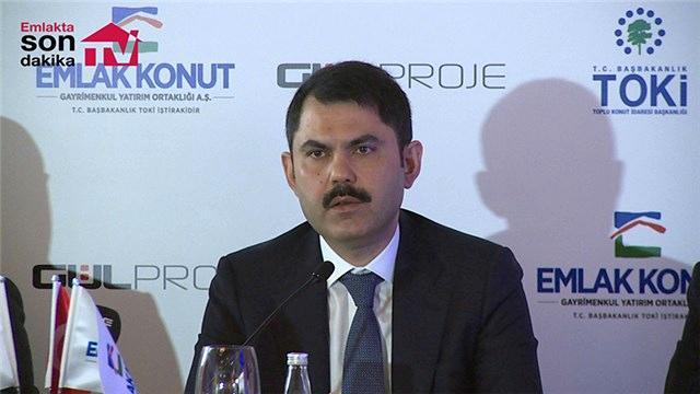 Murat Kurum'dan inşaat sektörüne kota önerisi!