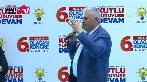 """Başbakan Yıldırım: """"Dev bir kentsel dönüşüm projesi başlattık"""""""