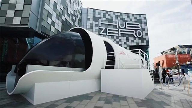 1200 km/s hıza sahip Hyperloop one görücüye çıktı