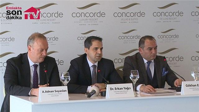 Concorde Luxury Resort basına tanıtıldı