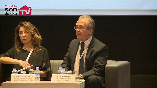 Ali Baki Usta ''Konutun Geleceği Geleceğin Konutu'' konferansına katıldı