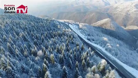 Bolu Dağı'nın etkileyici görüntüsü!