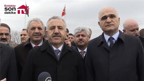 Bakan Arslan, Bakü-Tiflis-Kars Demiryolu hakkında açıklama yaptı
