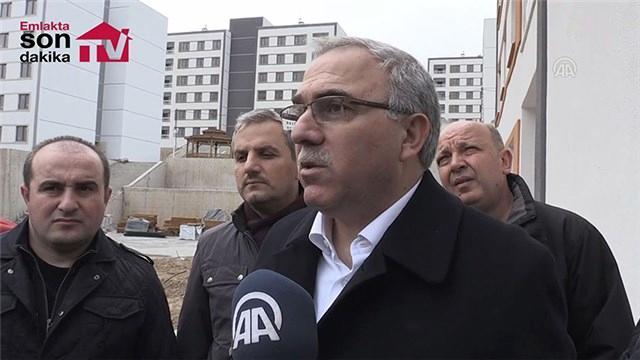 TOKİ Başkanı Turan, Manisa'daki projeleri inceledi