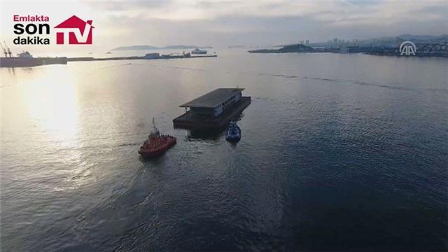 Karaköy'ün yeni iskelesi Haliç'e çekildi