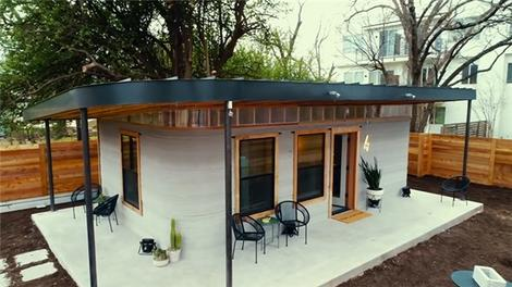 3D yazıcıyla 10 bin dolar maliyetli ev üretildi