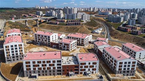 TOKİ Kayaşehir projesi havadan görüntülendi!