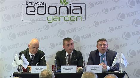 'Edonia Garden' projesi basına tanıtıldı