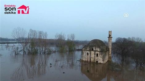 Tunca ve Meriç nehirlerinde düşüş başladı!