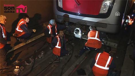 Ankara'da metro kazası!
